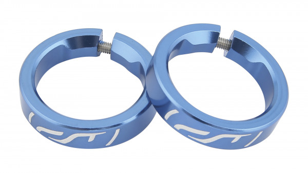 Contec CT KLEMMRING G-RING SEL. BLUE STEEL