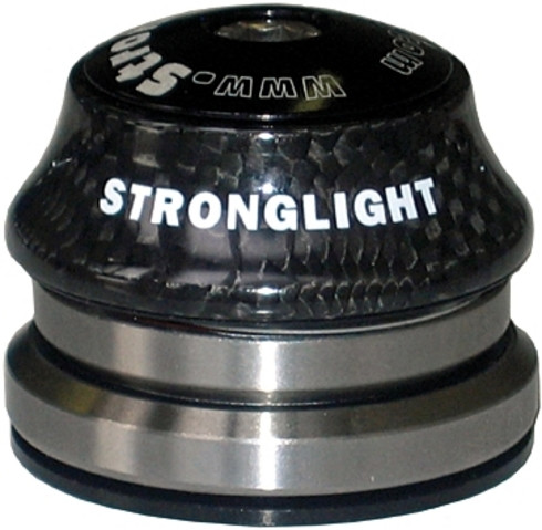 "Stronglight STEUERSATZ 1""1 / 4-1 / 8 LIGHT IN CARBON SCHWARZ"