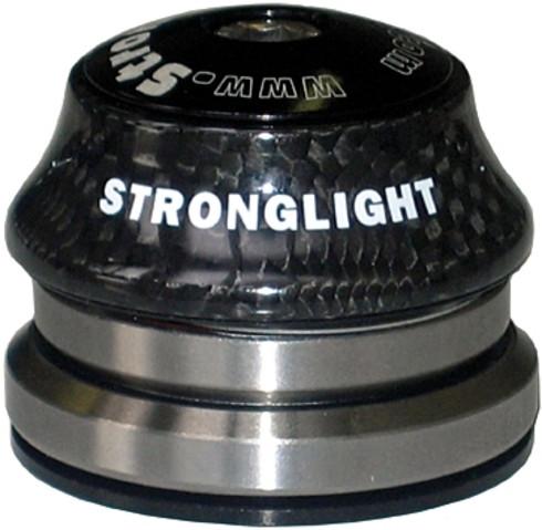 "Stronglight STEUERSATZ 1""1 / 4-1 / 8 LIGHT IN CARBON SCHWARZ"