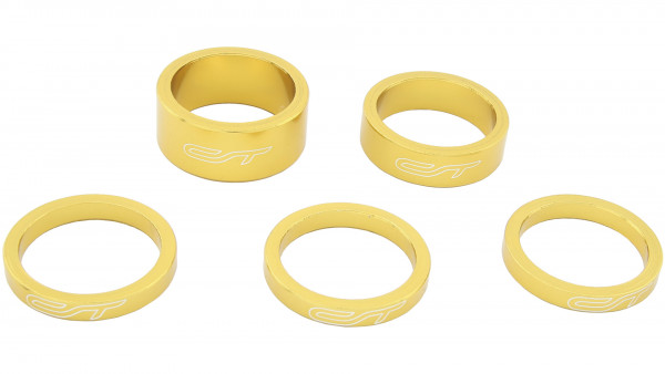 """Contec CT SPACER SET SELECT 1 1 / 8"""" GOLD"""