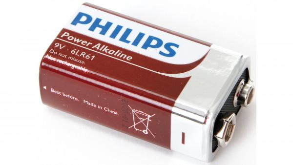 Philips BATTERIE POWERLIFE 6F22 E-BLOCK 1ER BLISTER