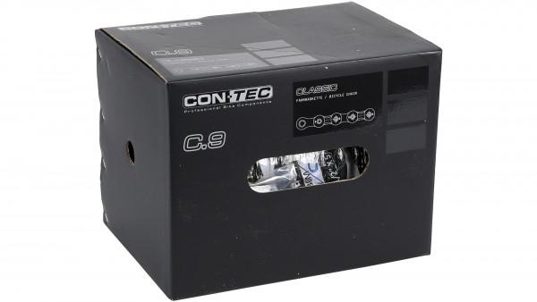 """CT KETTE C.9 9-F. 1 / 2 X11 / 128"""" 30M BOX SIL / SIL"""