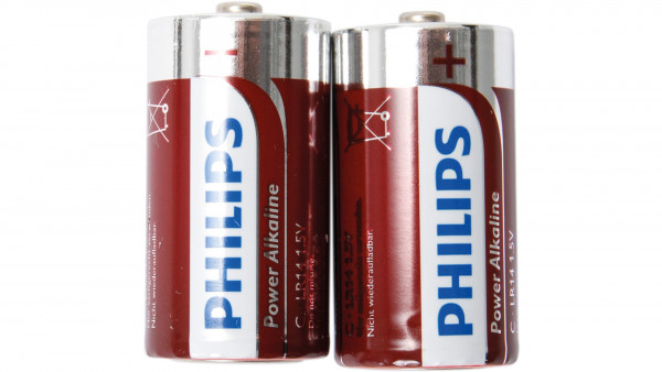 Philips BATTERIE POWERLIFE LR14 BABY 2ER BLISTER