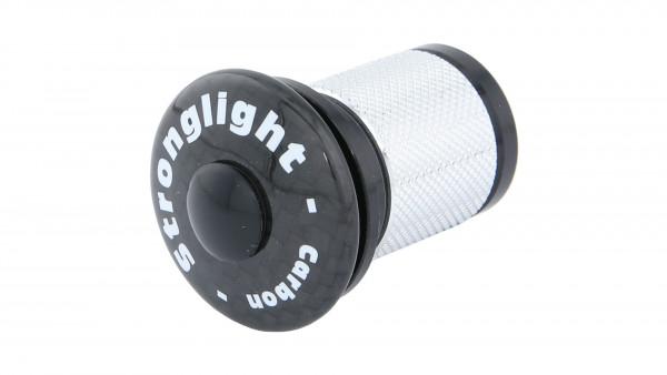 """Stronglight LONG A-HEAD CAP F. CARBON GABELN 1 1 / 8"""""""
