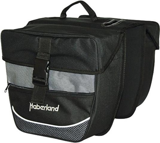 Haberland DOPPELTASCHE HABERLAND 25 L SCHW. / SILBER