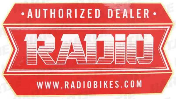 RADIO STICKER PACK AUTHORIZED DEALER