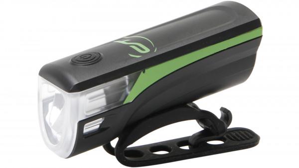 Contec CT BATT.LEUCHTE SPEED-LED FRONTLICHT, USB, NEOGREEN