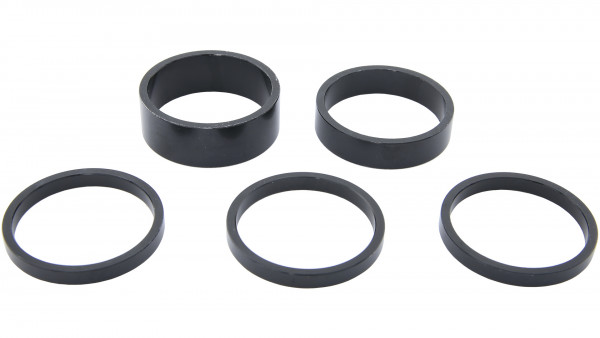 "CT SPACER SET 1,5"" SCHWARZ"