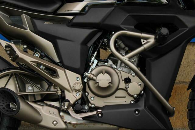 Detailfoto 3 - ZONTES G1 - ZT125-G1 - CAFÈ RACER ABS - LAGER